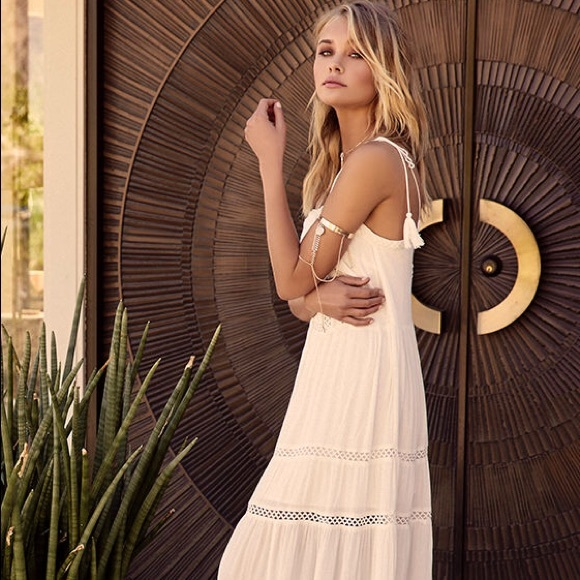 0a72d09fec6 Lulu s Dresses   Skirts - Lulus Angelic White Embroidered Maxi Dress